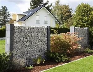 Sichtschutz Aus Beton : betonzaun zaunelemente gardocasa gabionen betonzaunsysteme im westerwald ww ~ Orissabook.com Haus und Dekorationen