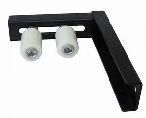 Rail De Guidage Pour Portail Coulissant : l forme guide roue galet nylon avec support pour portail ~ Edinachiropracticcenter.com Idées de Décoration