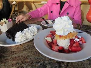 The strawberry shortcake!!! - Picture of The Cheesecake ...