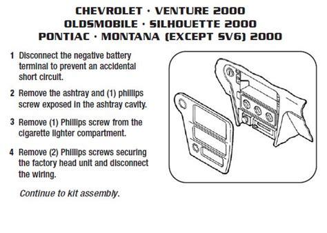 Iphone Chime Wiring Diagram by 2000 Chevrolet Ventureinstallation