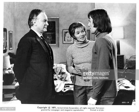 Actress Glenda Jackson and Murray Head in a scene from the ...