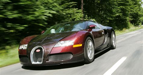 On the left, of course, is a modern chiron. Looking Back At The First Year Bugatti Veyron | HotCars
