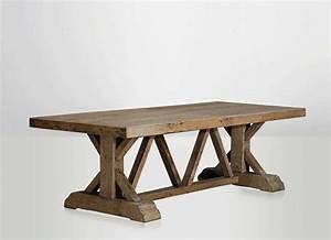 Table Ancienne De Ferme : table de ferme table ancienne table en bois naturel table monast re ~ Teatrodelosmanantiales.com Idées de Décoration