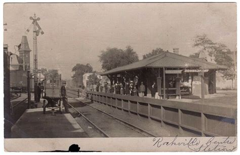 Depot Ct by Rppc Railroad Station Depot Rockville Centre Ny 1905