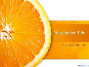Free Orange Ppt Template