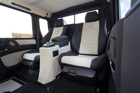 customized g wagon interior mercedes amg g 63 6x6 review 2017 autocar