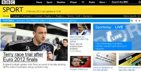 BBC Sport online gets major redesign - Entertainment ...