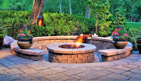 braai pit designs patio paving fire pit built in braai area genesis paving