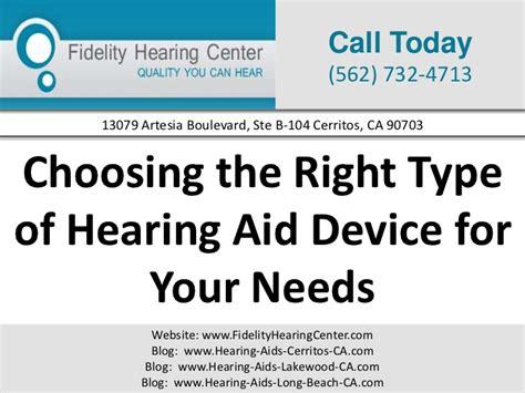 Choosing The Right Type Of Hearing Aid David De Kriek