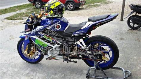 Modif New by Modifikasi Yamaha New Vixion Lightning Half Fairing