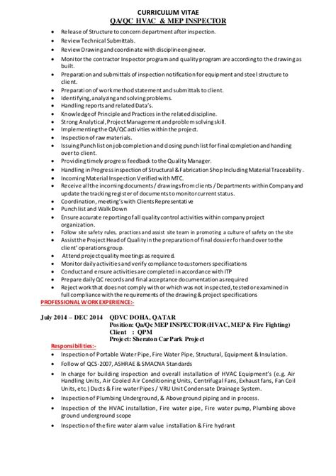 Electrical Qa Qc Engineer Resume by 100 Electrical Qa Qc Engineer Resume Sle Qa Engineer
