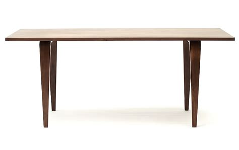 rectangle dining tables cherner 174 rectangular table design within reach 1750