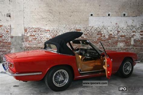 vintage maserati convertible 1968 maserati mistral convertible like new car photo