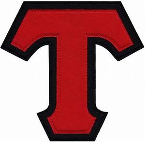 tackel twill greek lettering t red tau beta sigma With twill greek letters