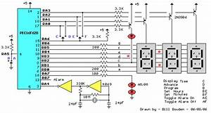 Pic Digital Clock Timer - Control Circuit