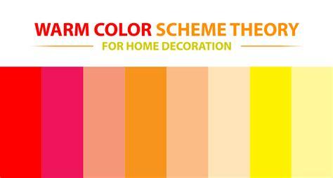 Warm Color Schemes  Home Design