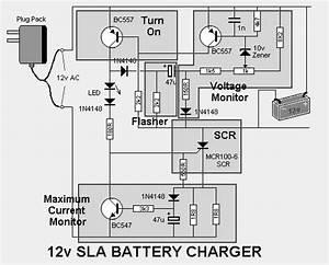 Sealed Lead Acid 12v Battery Charger