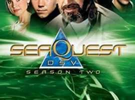 Seaquest Dsv Season 1 And 2 Dvd Boxsets...roy Scheider ...