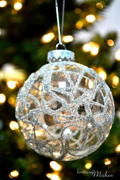 diy christmas glass ornaments 35 diy ornaments from easy to intricate