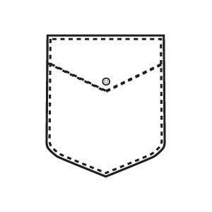 pocket folder clipart black and white shirt pocket clipart