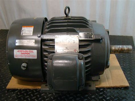 Emerson Electric Motors by Us Motors Emerson Electric Motor 15hp 230 460v 3 216 1775rpm