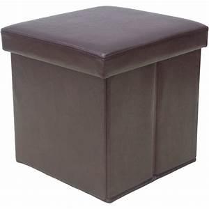 Stühle Grau Leder : leder ottoman hocker mit stauraum zusammenklappbar osmanischen brown cube osmanischen grau ~ Watch28wear.com Haus und Dekorationen
