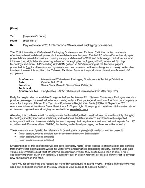 sample letter  requesting funding