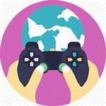 Icon Games Platform Gaming Internet Icons Modern