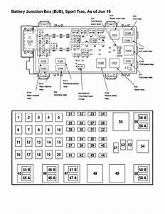 2001 Explorer Fuse Panel Diagram