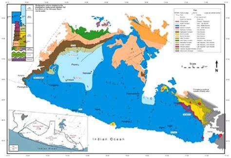 gambar  peta geologi regional pegunungan selatan lembar