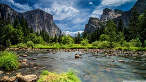 Sierra Nevada, Yosemite National Park, California, Usa 4k