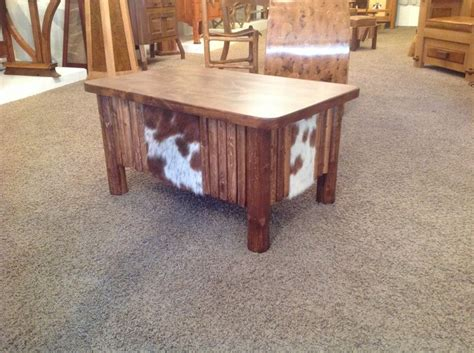 Cowhide Coffee Table by Hair On Cowhide Coffee Table It Would Look Great In Any