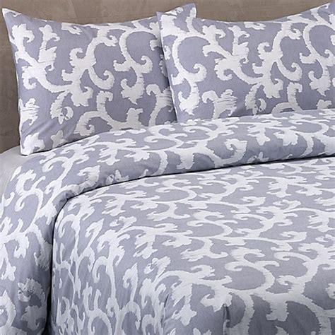 vera wang scrolls comforter set in blue purple bed bath