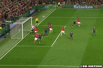 United Manchester Vidic Nemanja Everyone Stuns Header