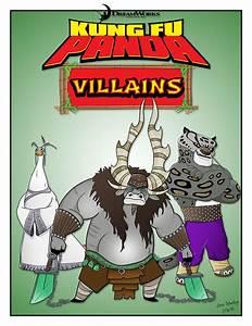 Kung Fu Panda Villains! by momarkey on DeviantArt
