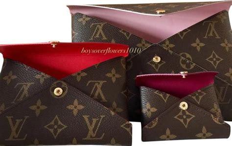 louis vuitton pochette kirigami set    envelope pouch wallet monogram canvas clutch tradesy