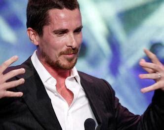 Christian Bale Apologizes For Tirade Sponkit Celebrity Blog