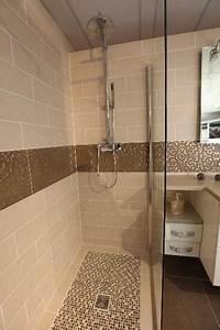 douche a l39italienne lille douai lens le touquet With cacher carrelage salle de bain