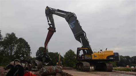 volvo ec  special highreach demolition excavator