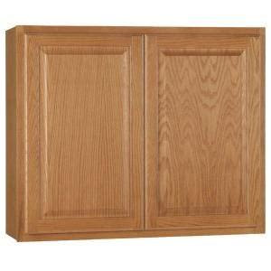 home depot oak kitchen cabinets hton bay hton assembled 36x30x12 in wall kitchen 7142