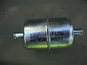 Inline Fuel Filter Replacement  U0026 39 67 Ss