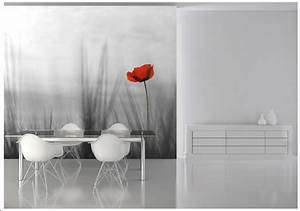 Bedroom wall murals red poppy Online store