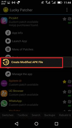 Modified Apk With Lucky Patcher by How To Use Lucky Patcher Pro Features On Android