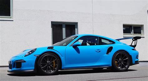 Eye Candy Mexico Blue Porsche Gt3 Rs