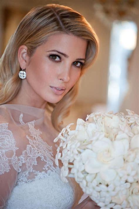 wedding inspiration ivanka trumps dress makeup