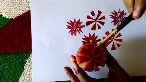 fabric painting  vegetables simple craft ideas