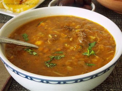 cuisine marocaine harira cuisine marocaine soupe harira