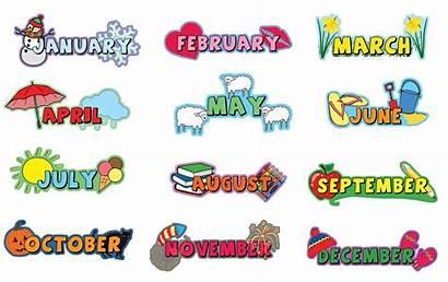 Months Month Calendar Mesi Anno Plaque Piece