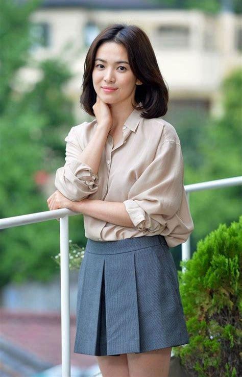 style ala song hye kyo  menginspirasimu jadi wanita
