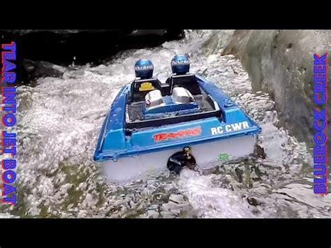 Rc Jet Boat Tear Into by Rc Cwr Nqd Tear Into Jet Boat In Bluerock Creek